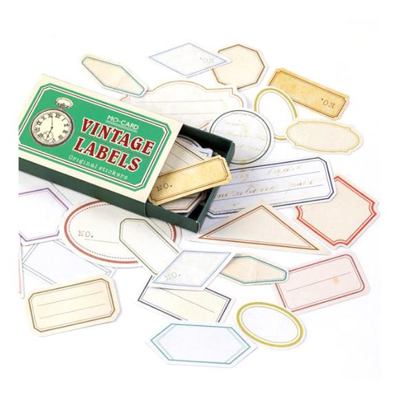 מדבקות - Vintage labels