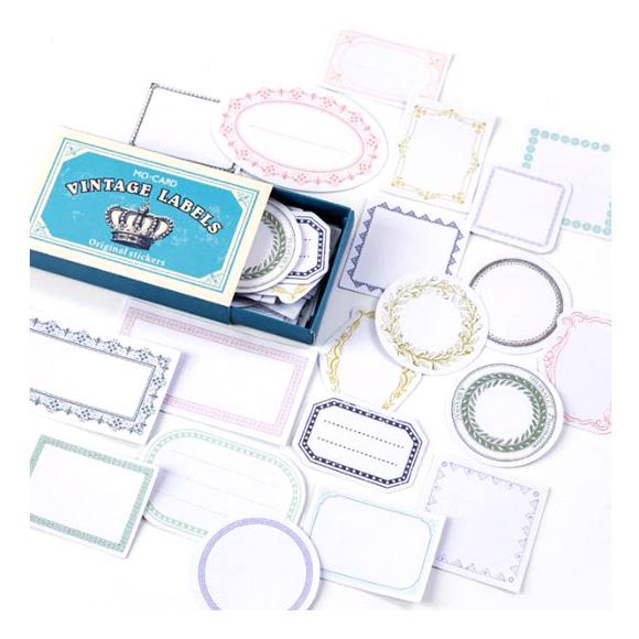 מדבקות - Vintage Frames label
