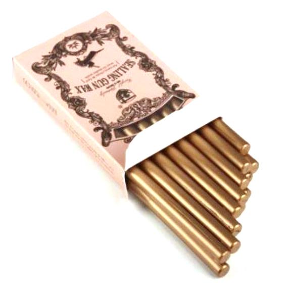 מארז שעווה להטבעת חותמות - זהב
