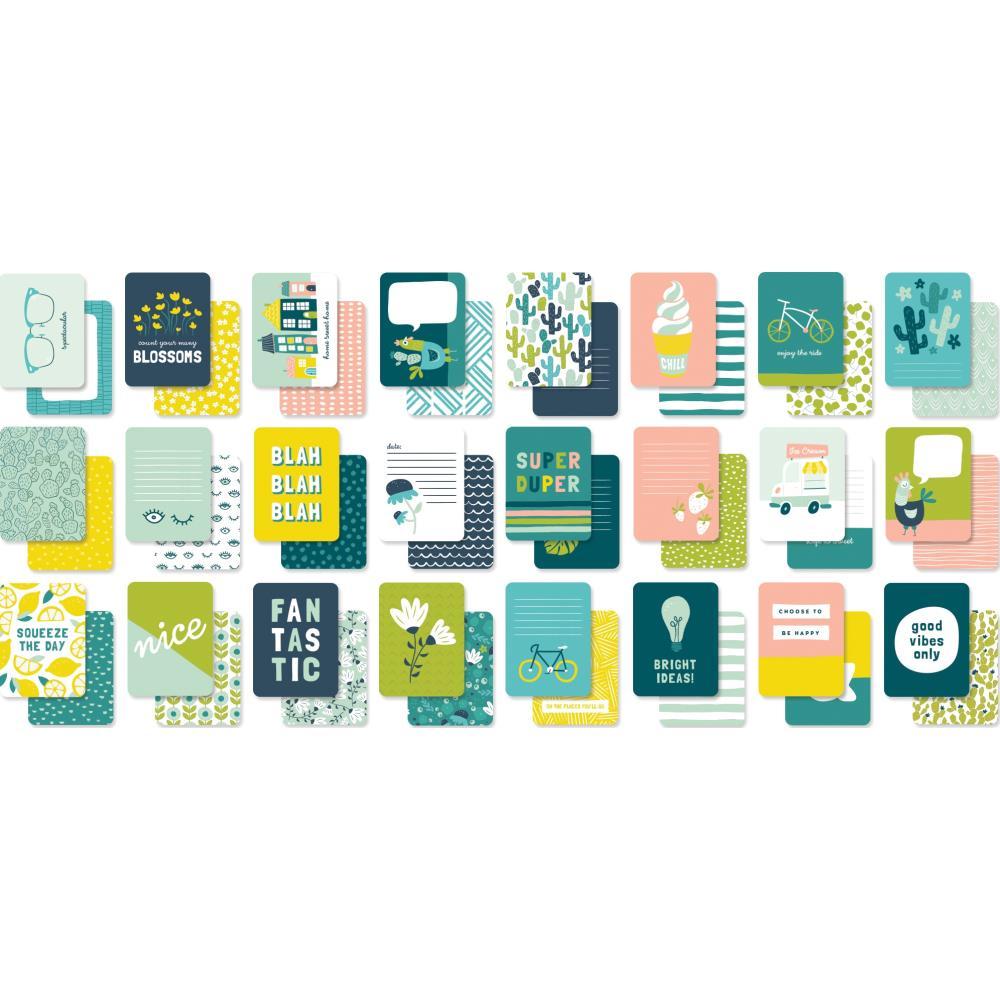 מארז דפי קארדסטוק Happy Days Journaling Cards