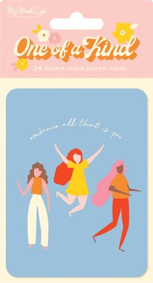 מארז כרטיסיות One of a Kind - Journal Cards
