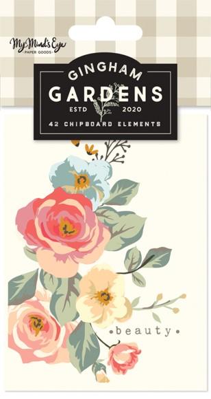 מארז כרטיסיות Gingham Gardens - Journal Cards