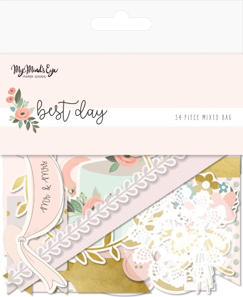חיתוכי קארדסטוק Best Day Collection - Mixed Bag