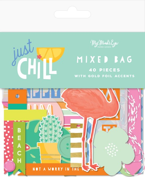 חיתוכי קארדסטוק Just Chill Collection - Mixed Bag
