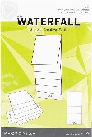 """אלבום מפל לבן 4""""*4"""" - Maker Series Manual - White Waterfall"""