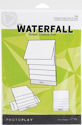 """אלבום מפל לבן 6""""*4"""" - Maker Series Manual - White Waterfall"""