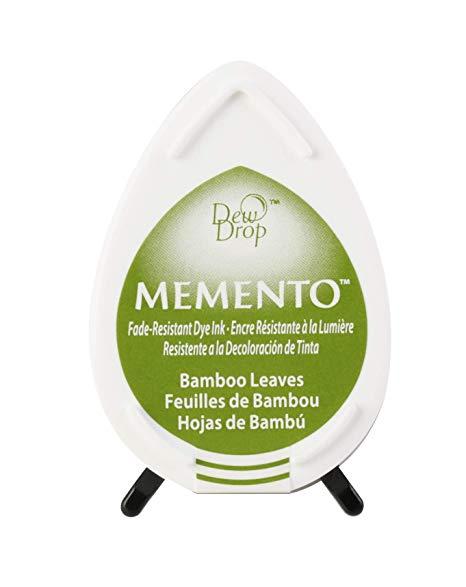 כרית דיו - Dew Drop Dye Ink Pad - Bamboo Leaves