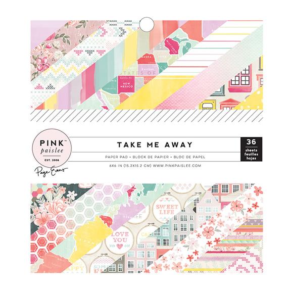 """מארז דפי קארדסטוק """"6 Take Me Away"""