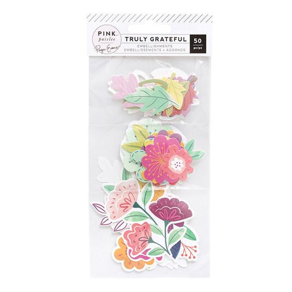 חיתוכי קארדסטוק Truly Grateful Collection - Floral