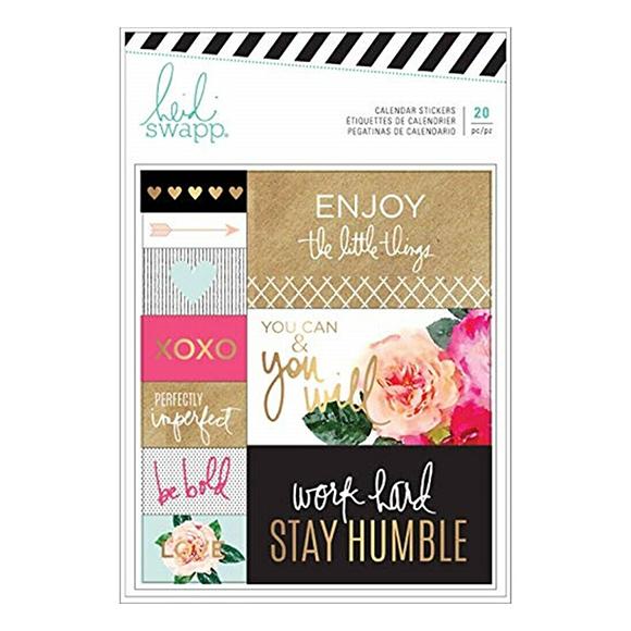 מדבקות Planner Stickers - calendar