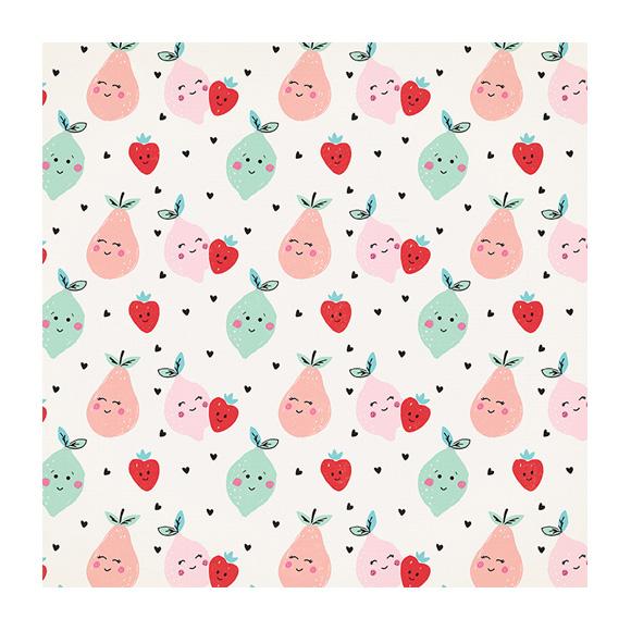 דף קארדסטוק - Cute Pear