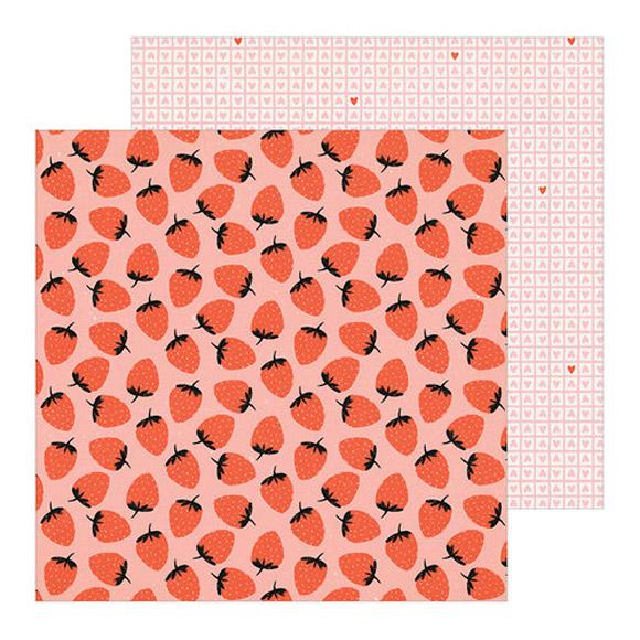 דף קארדסטוק - Berry Sweet