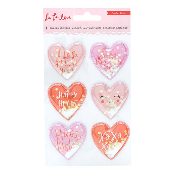 מדבקות La La Love Collection - Shaker Stickers