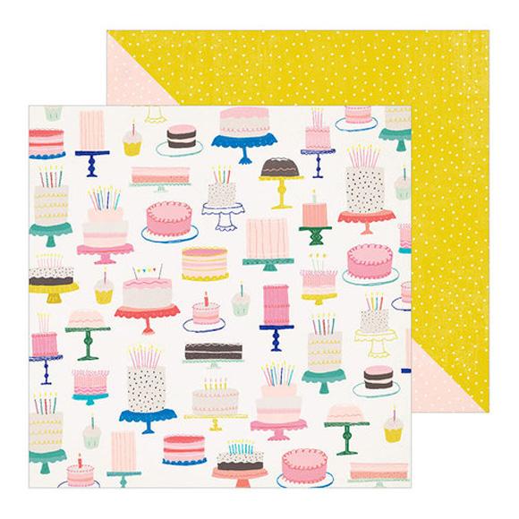 דף קארדסטוק - Cake
