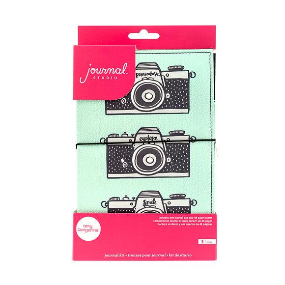 מחברת מידורי Journal Kit - Camera
