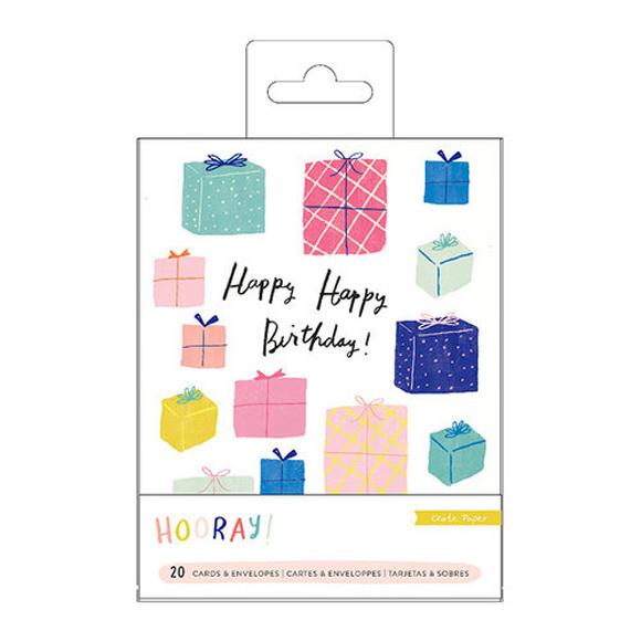 כרטיסי ברכה ומעטפות - Hooray Collection