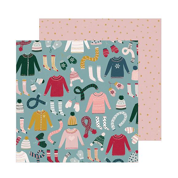 דף קארדסטוק - Knitted