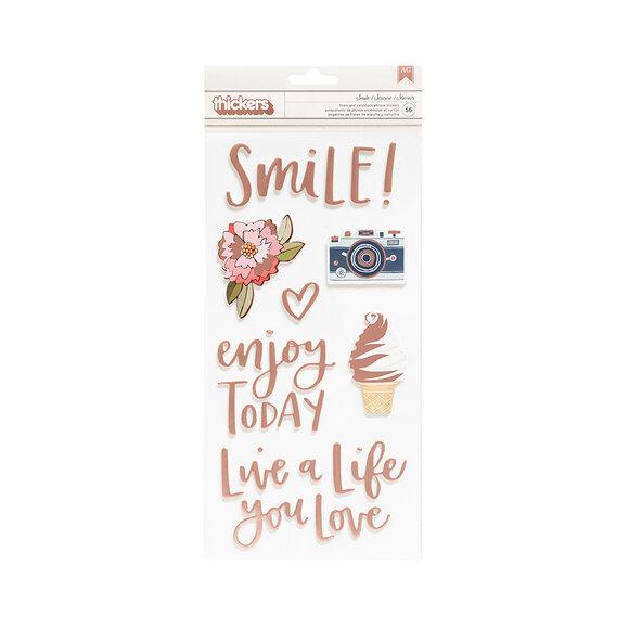 מדבקות Saturday Afternoon - Smile Foam