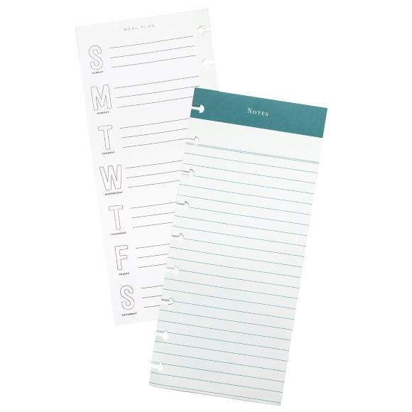 Disc Planner – Notes and Meal Plan Note Pad