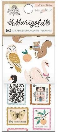 מדבקות נייר בגליל - Maggie Holmes - Marigold Collection
