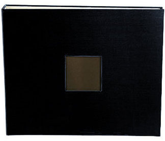 "אלבום ציפוי בד 12"" - Cloth Album D-Ring Window - Black"