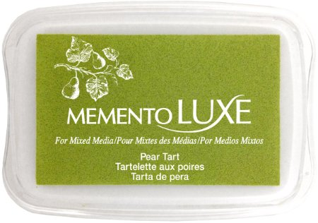 Memento Luxe Ink Pad - Pear Tart