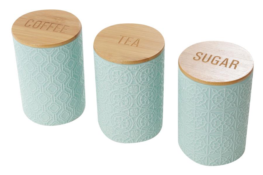 סט כלים לקפה תה סוכר- מנטה