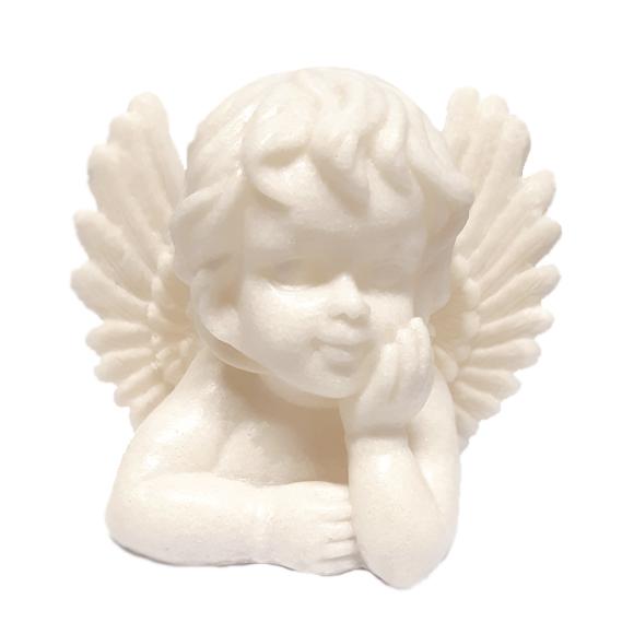 מנורת לילה - מלאך חושב דמוי אבן