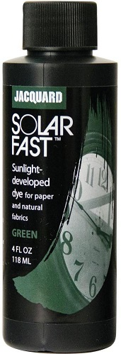 צבע להדפסי שמש - acquard SolarFast Dyes - Green