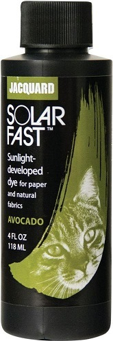 צבע להדפסי שמש - acquard SolarFast Dyes - Avocado