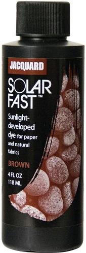 צבע להדפסי שמש - acquard SolarFast Dyes - Brown