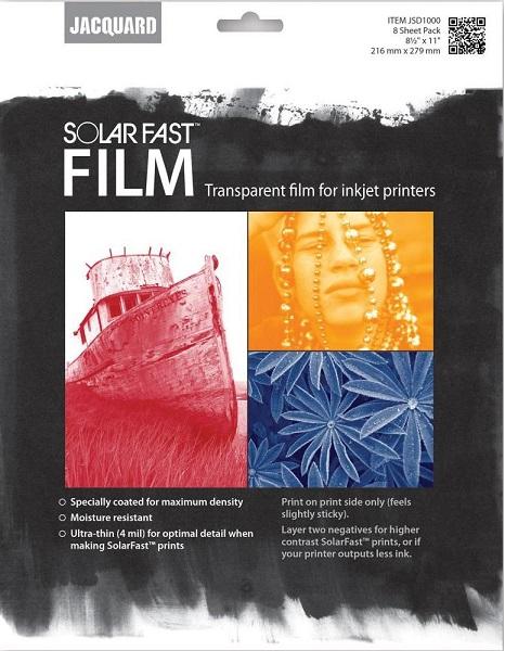 שקפים להדפסי שמש - Jacquard SolarFast Film