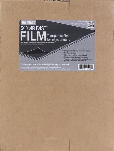שקף להדפסי שמש - Jacquard SolarFast Film