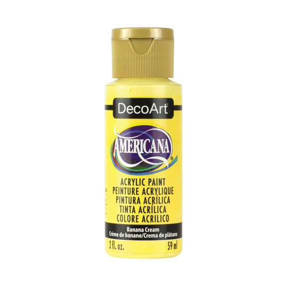 Americana Acrylic Paint - Banana Cream