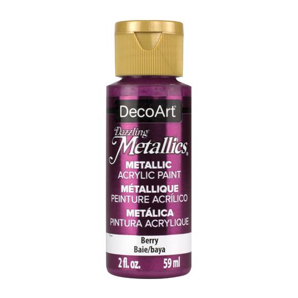 Americana Acrylic Dazzling Metallics - Berry