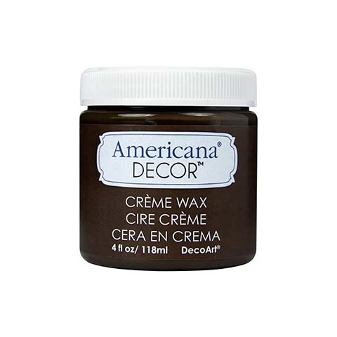 Americana Decor - Deep Brown Creme Wax 118 ml
