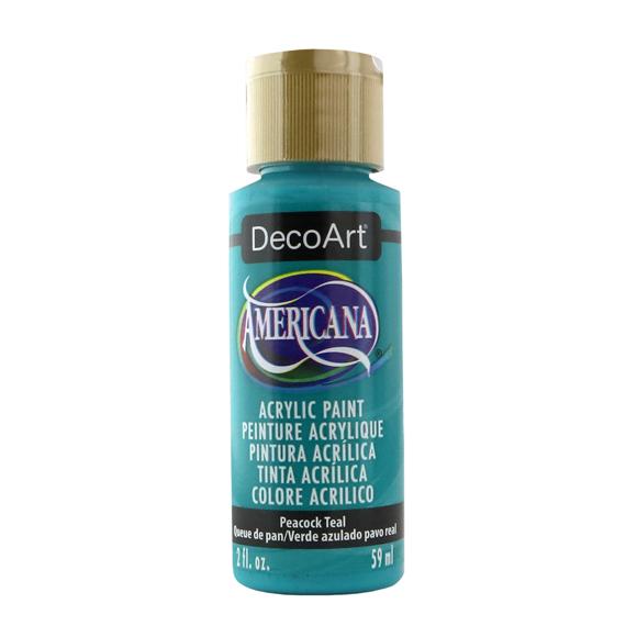 Americana Acrylic Paint - Peacock Teal