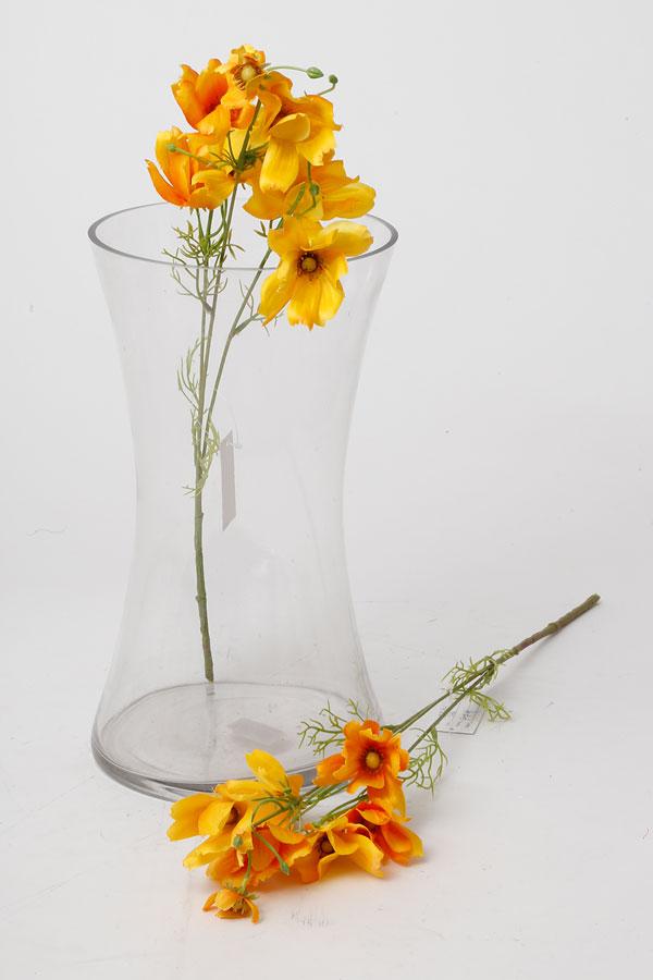 בוקט פרחי שדה מלאכותי בצבע צהוב