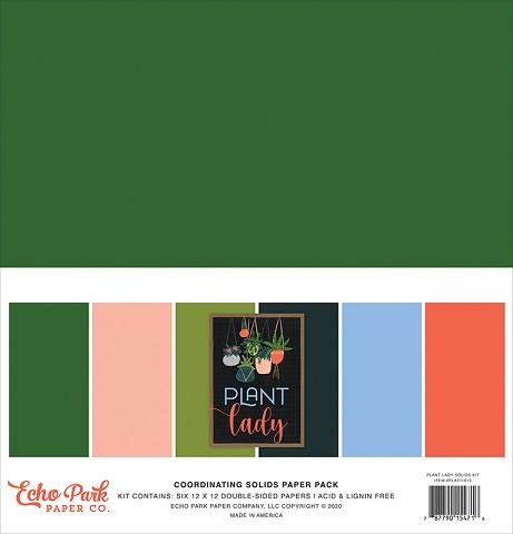 "מארז קארדסטוק 12"" - Plant Lady Solid Cardstock"