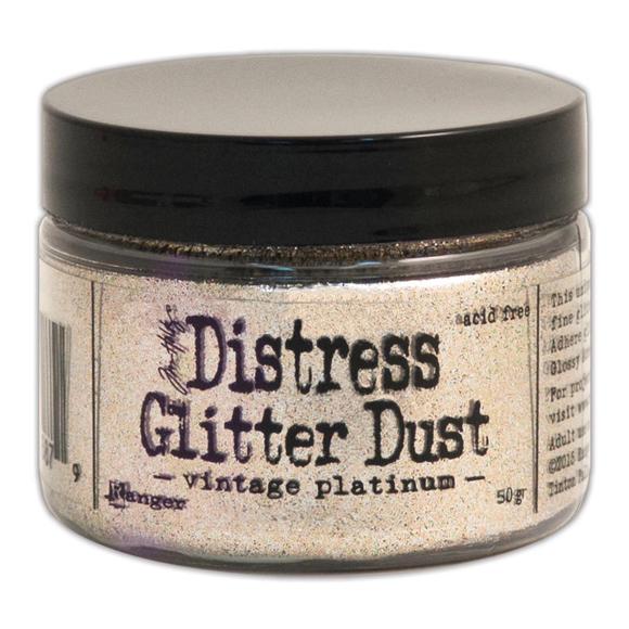 אבקת נצנצים - Glitter Dust - Vintage Platinum