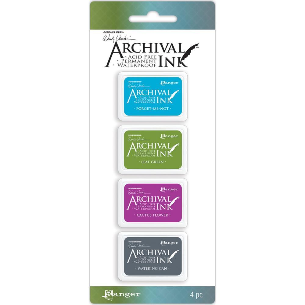 סט 4 כריות דיו #2 Wendy Vecchi Archival Mini Ink Pad