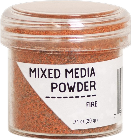אבקת הבלטה Ranger Mixed Media Powders - Fire