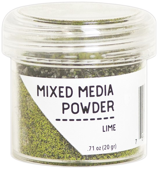 אבקת הבלטה Ranger Mixed Media Powders - Lime