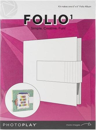 """אלבום תיקייה לבן 6"""" - קיט - Maker Series Folio"""