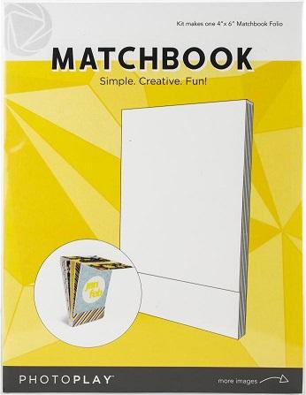 קיט ליצירת מיני אלבום מפל Matchbook - White