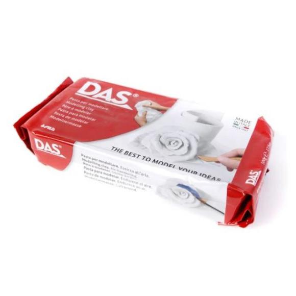 דאס חימר פיסולי 1 קילו - לבן