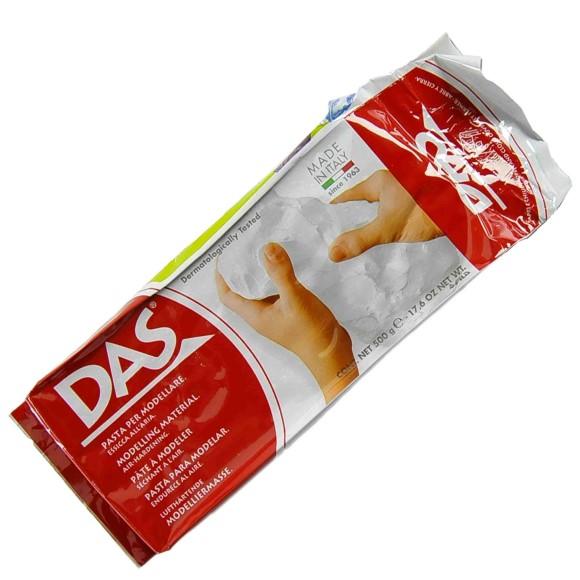 דאס חימר פיסולי - לבן