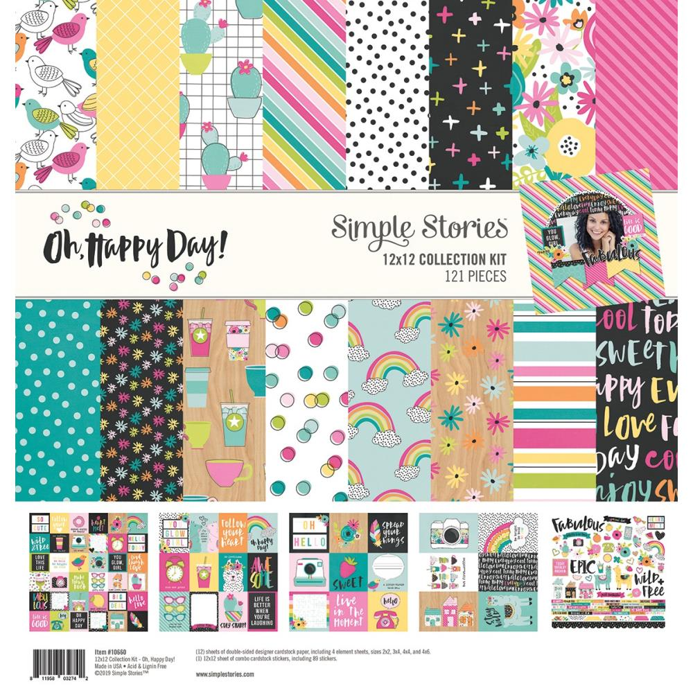 """Oh Happy Day Collection Kit 12""X12"