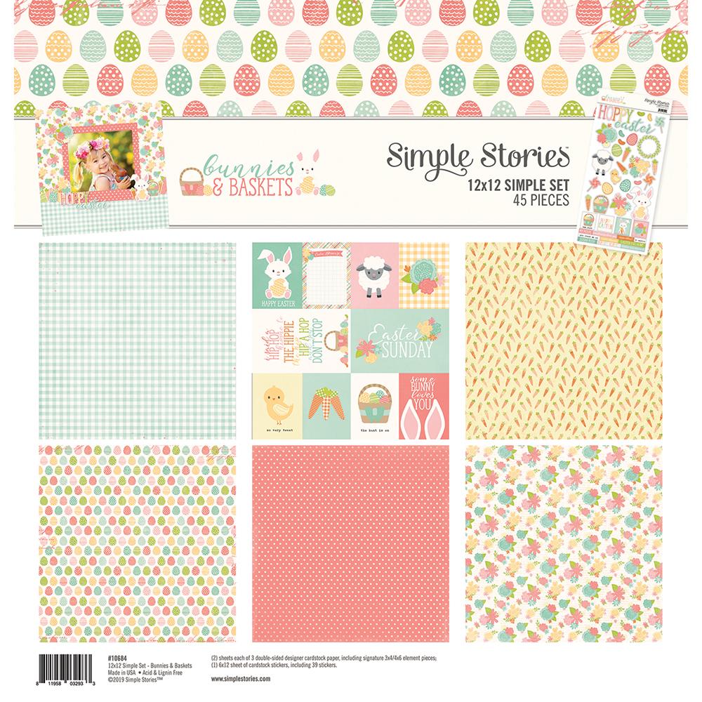 מארז דפי קארדסטוק - Springtime Collection Kit