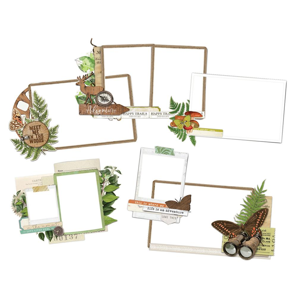 SIMPLE VINTAGE GREAT ESCAPE LAYERED FRAMES